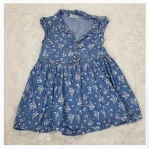 ** Oshkosh Denim Floral Dress